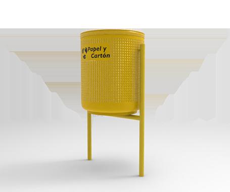 DESCRIPCIÓNLa papelera BARCELONA 80 está fabricada con estructura de metal, con contenedor circular y base tubular.Bote cilíndrico.Cuenta con doble protección contra el oxido y la corrosión generada por la lluvia y las condiciones del clima.Resistente a la intemperie.Los botes van sujetos a la estructura con un redondo macizo.La instalación puede ser por anclaje con tornillos o fijado por medio de perforación y concreto.Bote de polietileno opcional.FUNCIONALIDADLa papelera BARCELONA 80 es ideal para usarse en exteriores.Se utiliza para depositar basura, al medio ambiente y a mantener limpios los espacios públicos.El cerrado se realiza enganchando el bote al soporte de la base ubicado en la parte inferior de la misma.El vaciado se realiza liberando la cerradura y abatiendo el bote.CARACTERÍSTICASCAPACIDAD: 80 Lts.COLORES: Azul, Verde, Gris y Rojo.MEDIDAS:Largo: 55.7 cm.Ancho: 46.7 cm.Alto: 93.0 cm.