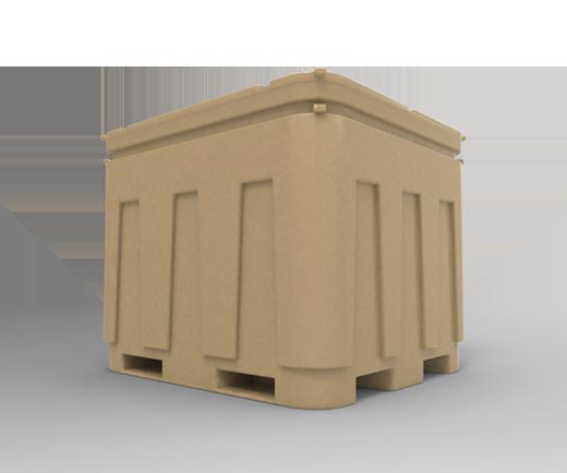 DESCRIPCIÓNEl contenedor Isotérmico 835 está fabricado con polietileno de media densidad para darle mayor resistencia a fuertes impactos y a las condiciones del clima.Resistente a cualquier tipo de trato bajo las condiciones más severas.Con protección a los rayos U.V.Entrada para montacargas.Con un máximo de 3 estibas.Tapón roscado de desagüe.Esquinas internas redondeadas para no acumular producto o agua.Con relleno de espuma de poliuretano como aislante térmico para conservar una temperatura adecuada de 3 a 4 días.Tapa desmontable y de cierre hermético.FUNCIONALIDADEl contenedor está diseñado para el depósito de productos que requieran una temperatura estable.Adecuado para el manejo, tratamiento, almacenaje y transporte de todo tipo de producto que requieran conservar en las mejores condiciones.CARACTERÍSTICASCAPACIDAD: 835 lts.COLOR: Beige.MEDIDAS:Largo superior: 123.0 cm.Ancho superior: 108.0 cm.Largo inferior: 119.5 cm.Ancho inferior: 103.0 cm.Alto: 100.0 cm.