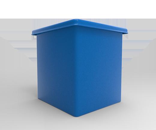 """FUNCIONALIDADES ideal para almacenar en forma ordenada e higiénica los alimentos o productos ya sea en lugares cerrados o a la intemperie.Manijas y ruedas opcionales.4 ruedas giratorias planas de 3"""", opcional para deslizar sobre la superficie fácilmente."""