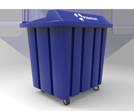 """DESCRIPCIÓNEl contenedor VIC-1000 está fabricado con polietileno de media densidad por rotomoldeo, para obtener mayor resistencia a los impactos.Con protección a los rayos UV.Cuenta con 4 ruedas giratorias 8"""" para una óptima manipulación del contenedor.Tapa que impide que el agua de la lluvia se introduzca en el contenedor.Opción de llevar (2) soportes laterales para el vaciado con elevador automático.FUNCIONALIDADEl contenedor VIC-1000 está diseñado para el deposito de residuos.De dimensiones grandes y ergonometricas.El vaciado puede ser por cualquier sistema de elevación.Fácil de lavar.Sin bordes e impurezas para facilitar la limpieza y el vaciado.Evita malos olores y focos de infección.CARACTERÍSTICASCAPACIDAD: 1000 Lts.PESO: 40 kg.COLORES: Gris, Verde, Azul Pepsi, Rojo y Amarillo.MEDIDAS:Largo: 130.0 cmAncho: 114.0 cmAlto: 113.0 cm"""