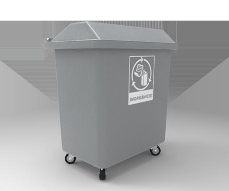 """DESCRIPCIÓNEl contenedor VIC-500 está fabricado con polietileno de media densidad por rotomoldeo para obtener mayor resistencia a los impactos y evitar deformaciones.Con protección a los rayos U.V.Cuenta con 4 ruedas giratorias de 4"""", que le ayudan a un mejor traslado.Tapa que impide que el agua de lluvia se introduzca en el contenedor.2 laterales opcionales para el elevador automático.FUNCIONALIDADEl contenedor VIC-500 está diseñado para el deposito de residuos.De dimensiones grandes y ergonometricas.El vaciado puede ser por cualquier sistema de elevación.Fácil de lavar.Sin bordes e impurezas para facilitar la limpieza y el vaciado.Evita malos olores y focos de infección.CARACTERÍSTICASCAPACIDAD: 500 Lts.PESO: 35.0 Kg.COLORES: Verde, Azul Pepsi, Rojo, Gris Claro yAmarillo.MEDIDAS:Largo: 102.7 cm.Ancho: 62.5 cm.Alto: 121.0 cm."""
