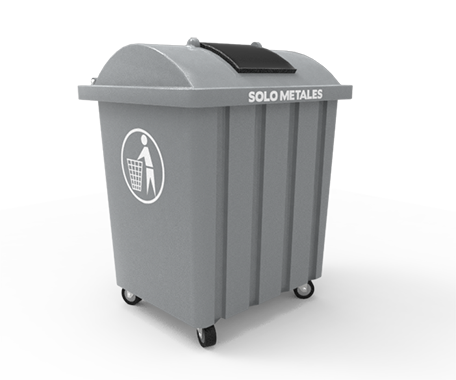 """DESCRIPCIÓNEl contenedor VIC-550 está fabricado con polietileno de media densidad en por rotomoldeo para obtener mayor resistencia a los impactos.Con protección a los rayos UV.Cuenta con 4 ruedas de hule, de 4"""", giratorias que le ayuda a un mejor traslado.Tapa que impide que el agua de lluvia se introduzca en el contenedor.Opción de 2 laterales para el vaciado con elevador automático.FUNCIONALIDADEl contenedor VIC-550 está diseñado para el deposito de residuos.El vaciado puede ser por cualquier sistema de elevación.Fácil de lavar.Sin bordes e impurezas para facilitar la limpieza y el vaciado.Evita malos olores y focos de infección.La tapa chica es de gran utilidad para tirar los desechos evitando que el usuario se ensucie.CARACTERÍSTICASCAPACIDAD: 550 Lts.COLORES: Verde, Azul Pepsi, Rojo, Gris Claro yAmarillo.MEDIDAS:Largo: 103.0 cm.Ancho: 84.0 cm.Alto: 118.4 cm."""